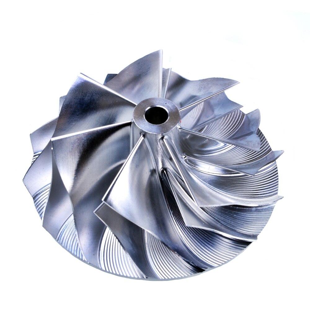 Kinugawa Turbo Billet Compressor Wheel 54.2/66.56mm 7+7 for Garrett GT28 kinugawa turbo billet compressor wheel 47 1 60 13mm 11 0 raise over height for garrett gtx2860r 813711 0003