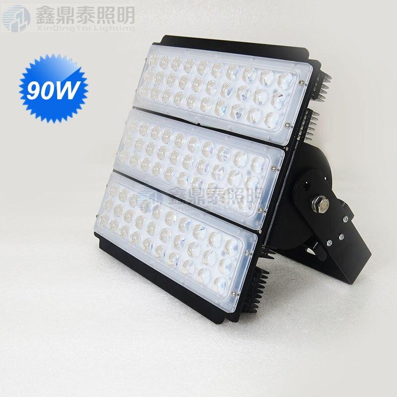 90 Вт светодиодный прожектор led АЗС, навес огни добыча лампы 90 Вт LED Промышленное освещение лампы 90 градусов луч