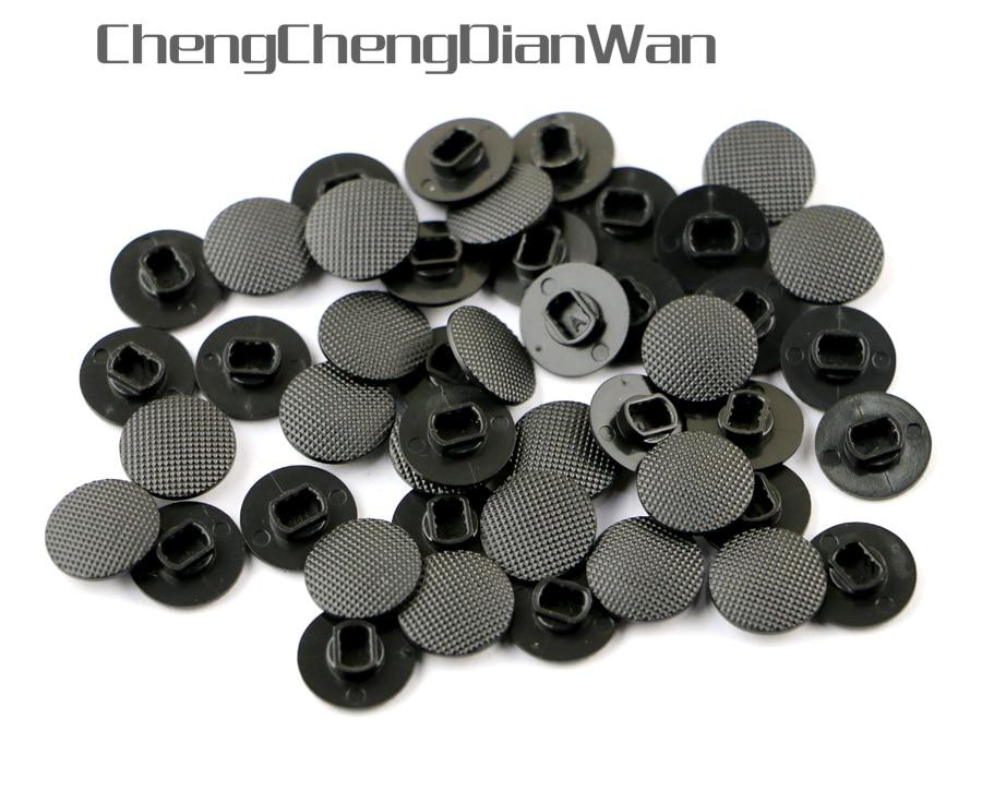 ChengChengDianWan Black Price for 3D analog joystick cap For PSP1000 PSP 1000 Game Console thumbsticks cap 10pcslot