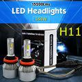 TAITIAN H11 H9 H8 144W 15200LM 6000K LED Headlights Car Fog Driving Upgraded Globe Bulbs