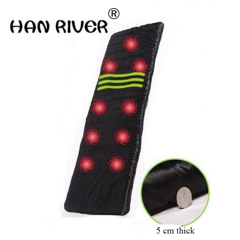 High quality 1 piece of household car 9 vibration massage cushion heating head massage mattress Body massager free shipping p80 panasonic super high cost complete air cutter torches torch head body straigh machine arc starting 12foot