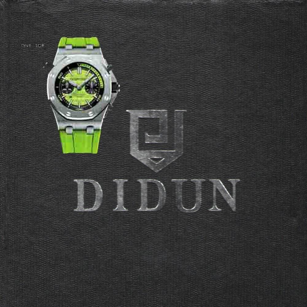 DIDUN Diver watch Man Top Luxury Brand Quartz Watch Men Military Chronograph Watch Shockproof 30m Waterproof