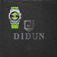 DIDUN Diver reloj Hombre de Primeras Marcas de Lujo de Cuarzo Reloj de Los Hombres Reloj Cronógrafo Militar A Prueba de Golpes 30 m Impermeable Wristwatc