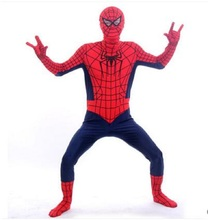 Height 90cm-185cm Spiderman Cosplay New Halloween Costume For Men Kids And Adult
