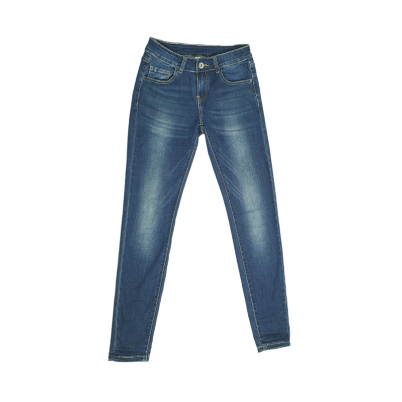 My Will Jeans Blue Tight And High Elastic Was Thin 7080 Made In China