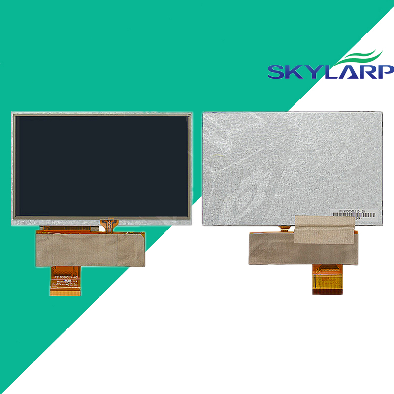 Original 5''inch 40 pin Touchscreen LCD for Navi N50 HD Car Navigators GPS LCD display QD050001C0-40 LCD with touchscreen