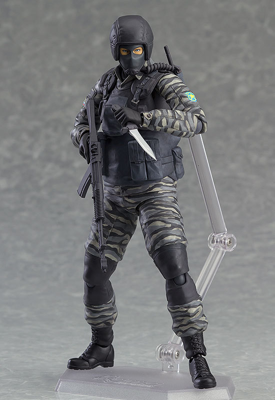 New Hot! 15CM Figma #298 Metal Gear Solid 2 Sons Of Liberty Gurlukovich Solider Figura PVC Action Figure Collectible Model