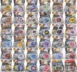 Chegam novas!! 16 pçs/lote 30 Estilo BB104-BB128 4D Pião de Metal com Lançador de Natal Das Crianças do presente do Dia