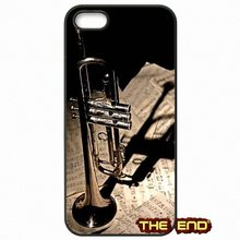 Für iphone samsung huawei xiaomi sony ipod lg htc lenovo nokia moto piccolo-trompete messing instrumente klassische phone case abdeckung