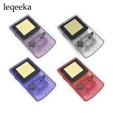 Obudowa Shell dla gra na Nintendo chłopiec GBC edycja limitowana skrzynka naprawa części