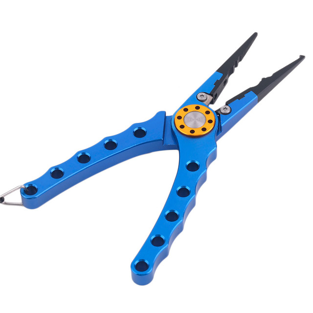 Multifunctional Fishing Plier Fish Lures Hook Remover Line Cutter Scissors Aluminum Alloy Fishing Tools Accessories