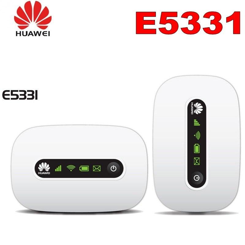 En stock Huawei E5331 hotspot Sans Fil Hspa Poche Wifi MIFI 21mbps 3G wifi hotspot Sans Fil Modem haut débit mobile