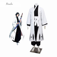 Ainclu Product 4th Division Captain Unohana Retsu Fashion Bleach Cosplay Costume Halloween Costume Customize for plus size