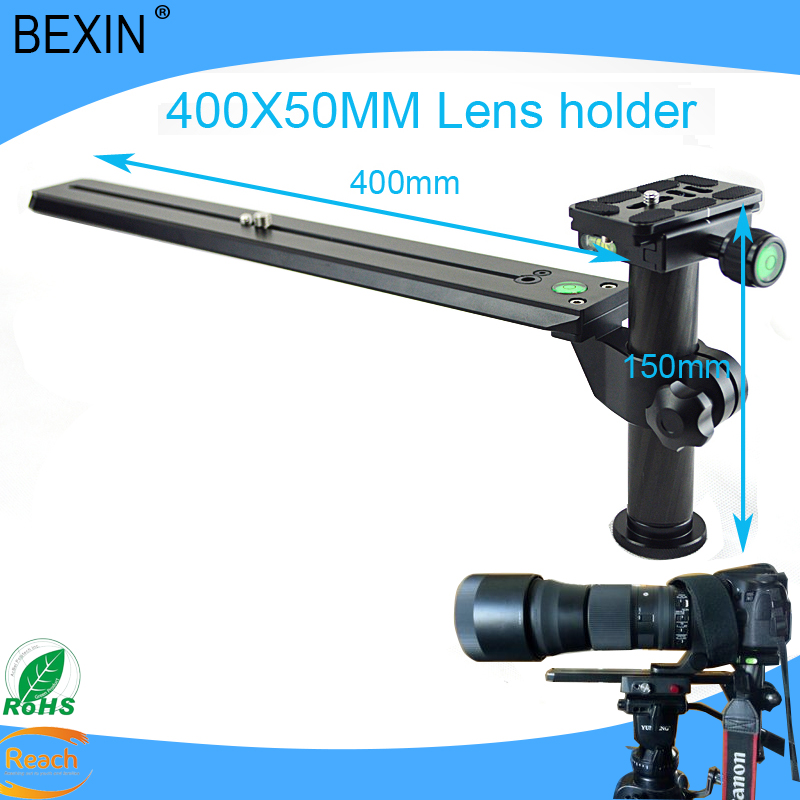 High Quality Camera Accessories Quick Release plate Telephoto Clamp LS-400 Camera lens holder Bracket