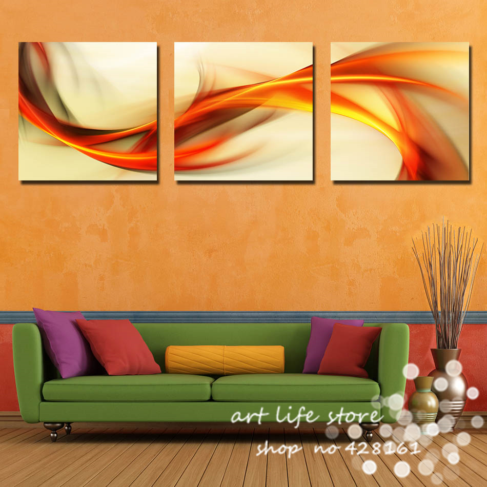 Modern Wall Paintings Living Room Aliexpresscom Buy 3 Panel More Big Size Hot Sell Modern Wall