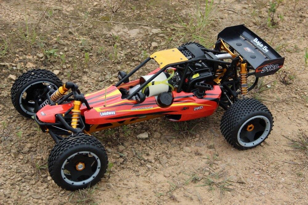 1:5 SY Baja 30.5cc 2 T moteur à essence tout Nylon pur nylon puissant RC baja voiture 2.G télécommande