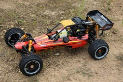 SY Pure nylon 1:5 RC Baja 5B with 30.5cc 2T gas engine RTR
