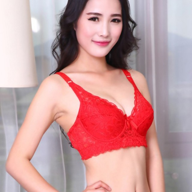 New Sexy Women Underwire Lace Push Up Bra Brassiere 36 38 40 42 Cup Size C  Hot 7 Colors-in Bras from Underwear   Sleepwears on Aliexpress.com  338260da0