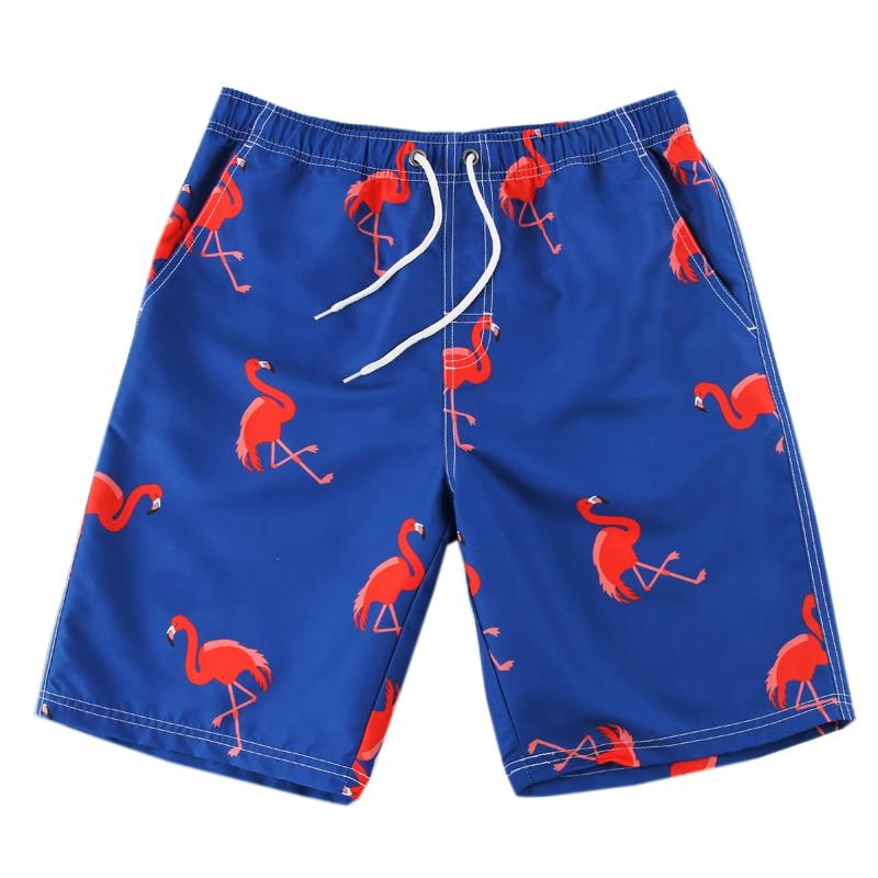 Beach-Shorts Bathing Summer Animal Men for Swimming Water Surf Prints Hot-Selling