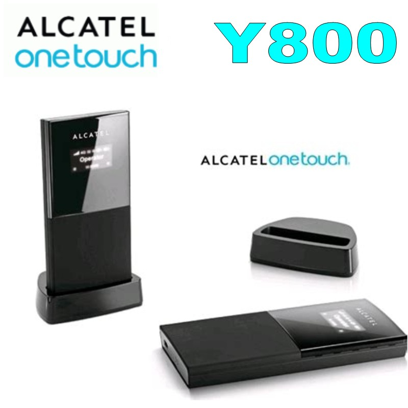 Lot Of 100pcs Original Unlock LTE FDD 100Mbps Alcatel One Touch Y800 Portable 3G 4G Wireless Router With Sim Slot
