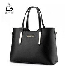 LINLANYA Fashion Female Package Elegant Women Handbag High Quality Leather Shoulder bag All-Match Messenger Bag Casual Tote