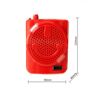 Image 2 - JINSERTA Portable Voice Speaker Mini Wireless Voice Amplifier with LED Display Support USB TF Card FM Radio for Teacher