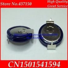 100pcs /lot ,farad capacitors 5.5V 1.5F h  horizontal