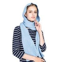 Nova moda Feminina Inverno Casual Sólidos Cruz Correias Quente Lenço No Pescoço Cachecóis cachecol de inverno poncho bandana Pashmina Xale Macio