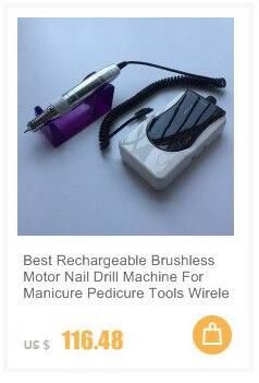 broca pedicure manicure máquina de trituração micro