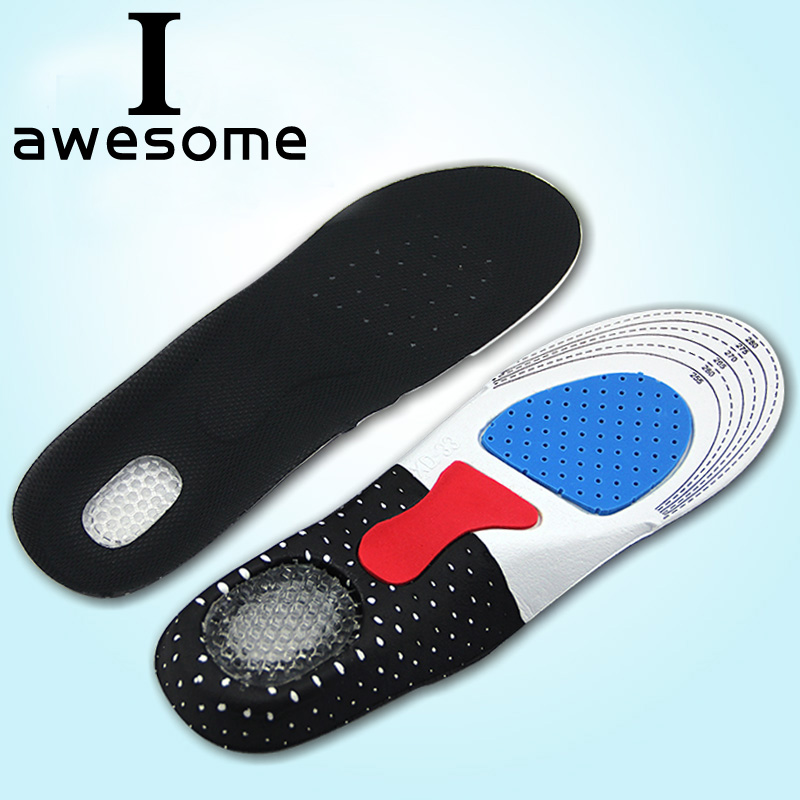 Unisex Gel Comfortable Insoles Insert Orthotic Arch Support Sport Shoe Pad Sport Running Free Size Cushion for Men Women 2018 free size unisex orthotic arch support shoe pad sport running gel insoles men women insert cushion