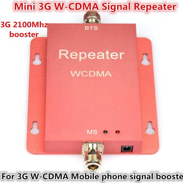 Marketing direto Sunhans mini W-CDMA 2100 Mhz 3G repetidor celular reforço de sinal, 3g Amplificador repetidor do impulsionador do telefone celular