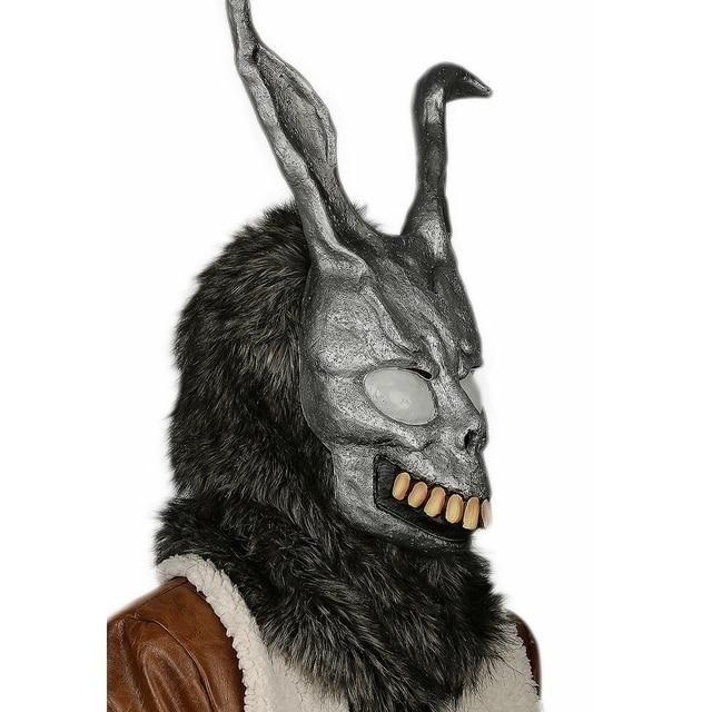 Coslive Donnie Darko Bunny Mask Deluxe Frank Helmet Halloween Cosplay Accessory Adult Costume Prop For Unisex 1