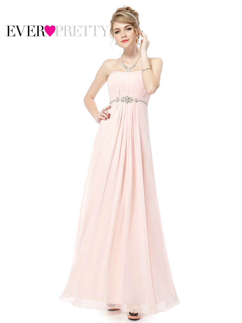 Online get cheap cute bridesmaid dresses aliexpress alibaba ever pretty 2017 clearance style bridesmaid dresses elegant strapless pink long chiffon cute bridesmaid dress xxkp52180eha ombrellifo Choice Image