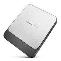 Seagate Fast SSD 250GB 500GB 1TB 2TB Portable External Hard Drive Disk for Desktop Laptop USB3.0 STCM250400