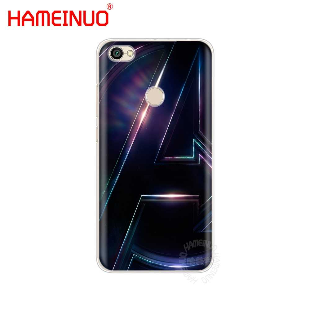 HAMEINUO Infinity War thanos чехол для телефона для Xiaomi redmi 5 4 1s 2 3 3s pro PLUS redmi note 4 4X 4A 5A