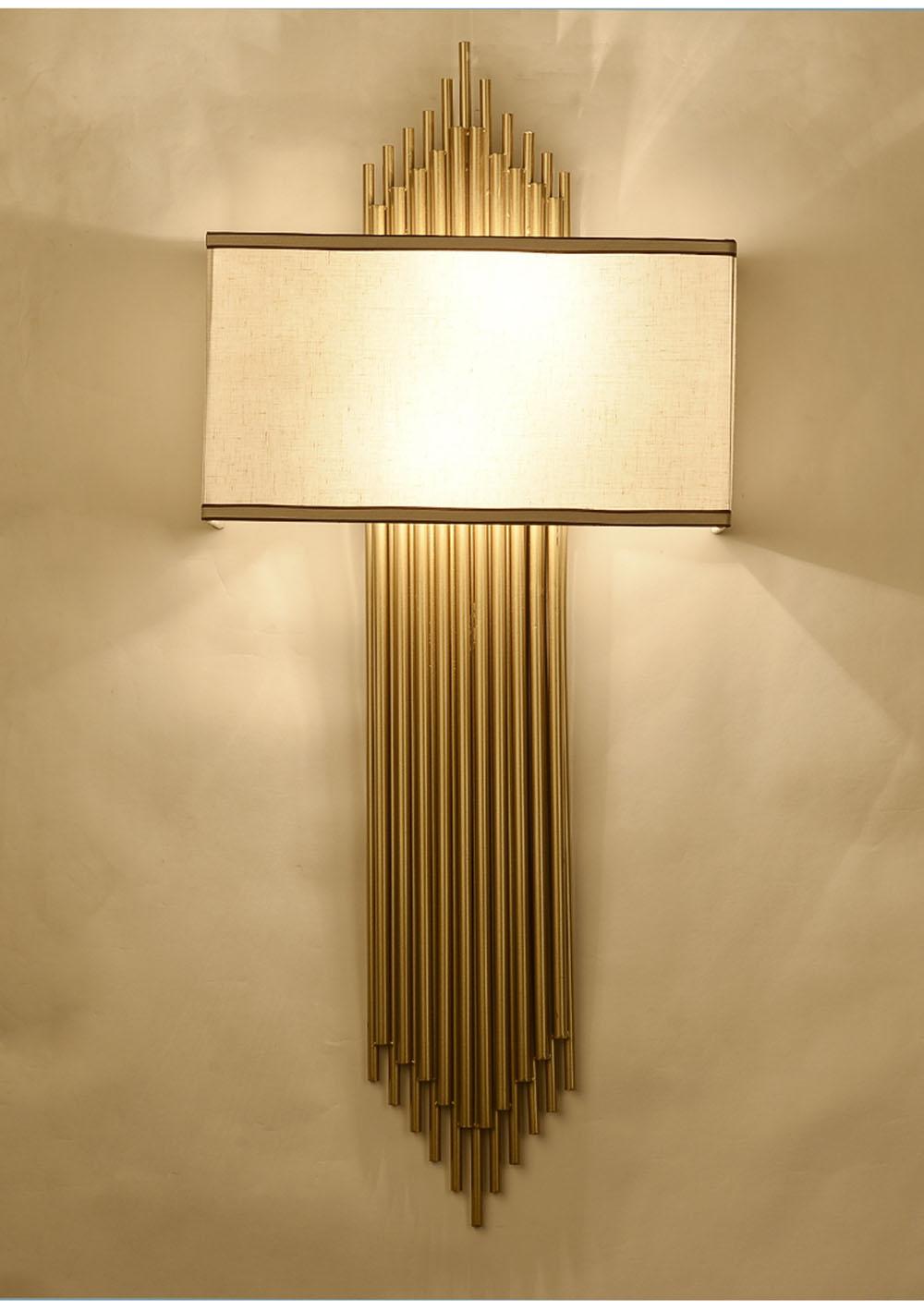New Chinese LED Wall Lamp Living Room Bedroom Bedside Lamp E14 Aisle ...