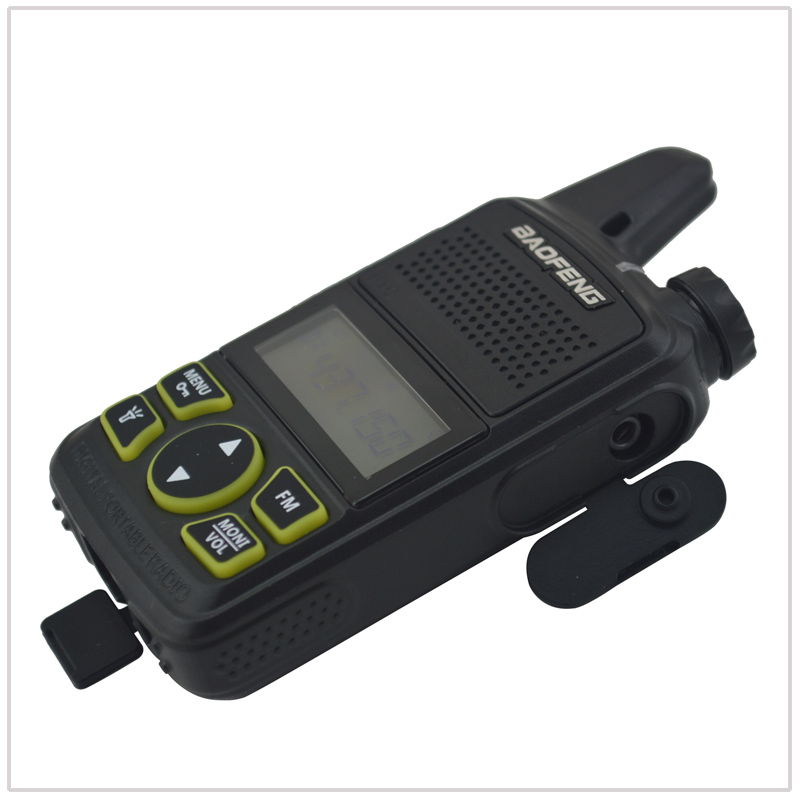Image 5 - 1pcs x baofeng Mini Walkie Talkie BF T1 UHF 400 470MHz 1W 20CH Small Mini Portable Ham FM Two way Radio With Earpiece-in Walkie Talkie from Cellphones & Telecommunications