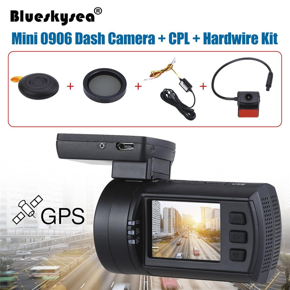Blueskysea Car Camera Recorder 0906 1080P 1 5 LCD Car DVR GPS IMX291 Night Vision G