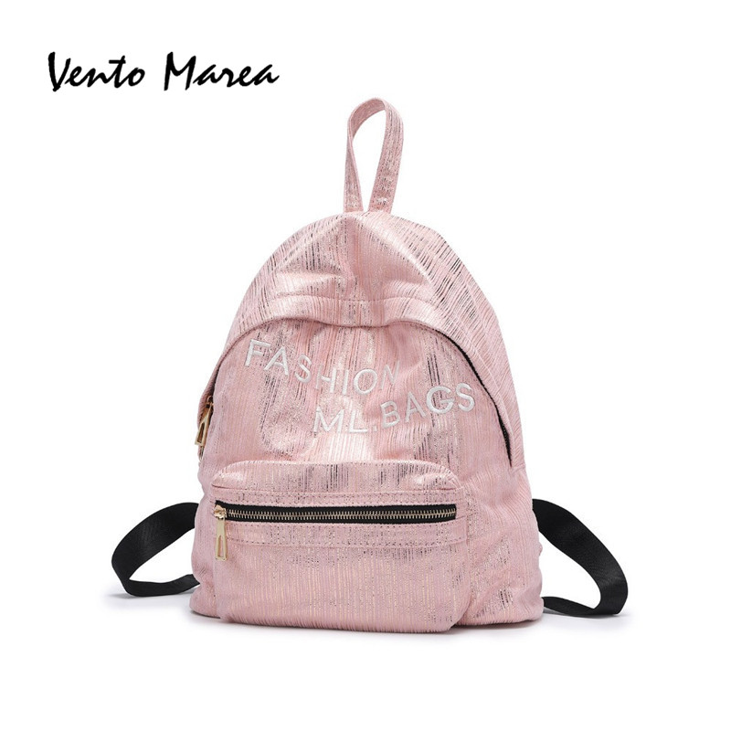 Casual Style Women Backpacks Letters Printed Bookbags Polyester Large Capacity School Bag For Teenage Girls Travel Backpack tept79001 trend ready letters casual style