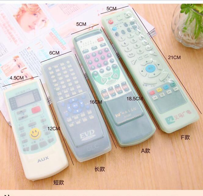 Punctual Tv Remote Cover Protective Storage Bag Waterproof Fluorescent Air Dust Controls Cell Phone Accessories Cases, Covers & Skins