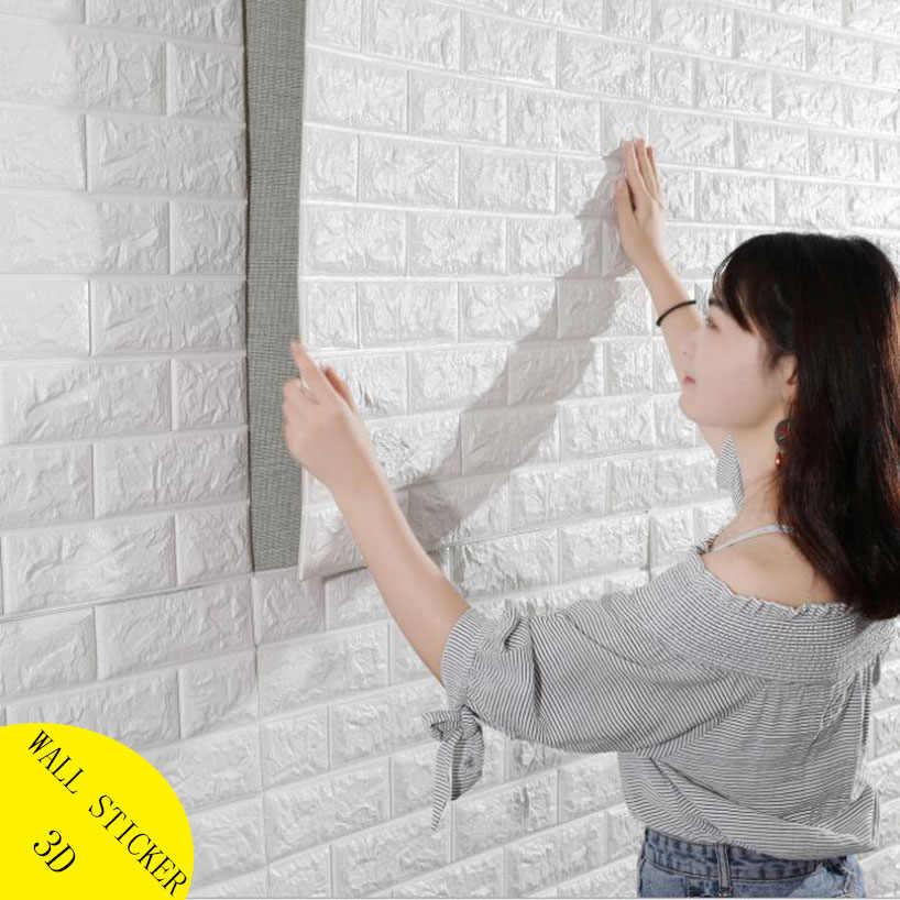 Kupas dan Tongkat 3D Panel Dinding Ruang Tamu Wallpaper Batu Bata Stiker Anak anak Kamar Bata.jpg q50