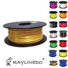 Golden Color 1Kilo/2.2Lb Quality PLA 1.75mm 3D Printer Filament 3D Printing Pen Materials
