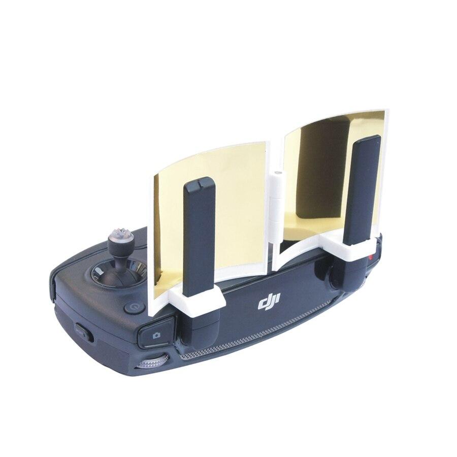 MAVIC PRO Spark Remote Controller Signal Booster Foldable Antenna Signal Enhance Specular Golden Silver Surface
