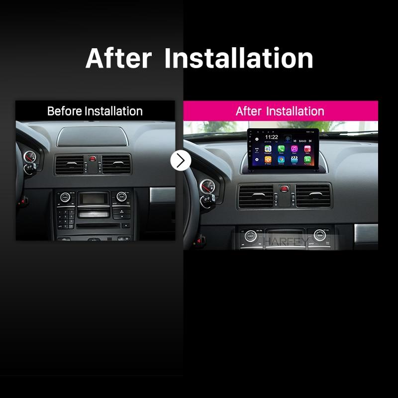 "Image 4 - Harfey carro 4 core hd 2din 9 ""estéreo bluetooth android 10.0 gps navi para volvo xc90 2004 2005 2014 reprodutor multimídia rádio rdsReprodutor multimídia automotivo   -"