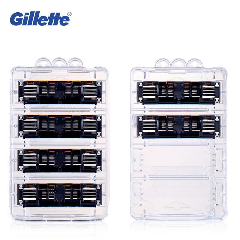 Gillette Vector 3 Shaving Razor Blades for Men Three Layer Shaver Blades 6PCS/BOX