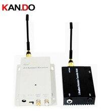 5 W barato versão 1.2G transceptor Sem Fio, 1.2G Transmissor Audio Video Receiver, 1.2G transmissor zangão 1200 mhz receptor fpv