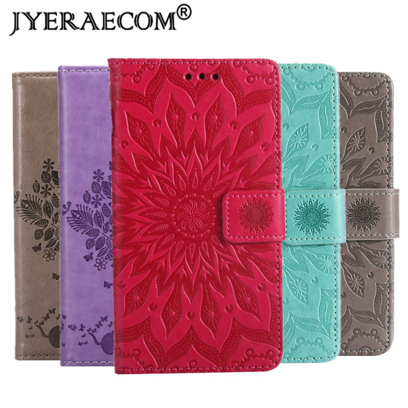 JYERAECOM Retro Flip Case For <font><b>IPhone</b></font> 4 4S 5 5S <font><b>6</b></font> 6S X 7 8 Plus PU <font><b>Leather</b></font> + Silicon Wallet Stand <font><b>Cover</b></font> For <font><b>iPhone</b></font> 4S Case Coque image