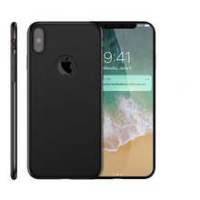 Luxury Hard PC Protective Back Cover For Apple iPhone X Case Ultra Thin PC Frosted Shockproof Full Cover Cases For iPhone X 10