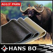 Aully иглами тему оплетка парк коровьей интерьера стайлинг аксессуар руль натуральной