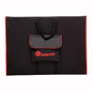 Image 4 - Dokio Flexible Foldable Solar Panel High Efficience Travel & Phone & Boat Portable 12V 80w 100w 150w 200w 300w Solar Panel Kit